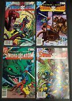 """(4) 1983 DC Comics, Vol.1 #1 #2 #3 #4, """"Sword Of The Atom"""""""