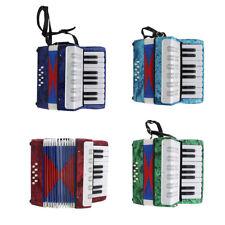 Kinder Akkordeon mit 17 Tatsen Ziehharmonika Musikinstrument Spielzeug