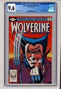 Wolverine Limited Series #1 Frank Miller Cover CGC 9.6
