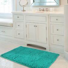 Mayshine 24x39 inch Non-slip Bathroom Rug Shag Shower Mat Machine-washable Bath