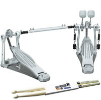 Tama HP310LW Speed Cobra Doppel-Fußmaschine + Drumsticks