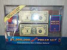 $1,000,000 CHEATS POKER SET - 100% COMPLETE, CONTENTS NEW & SEALED