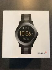 Fossil - Q Founder Gen 2 Smartwatch 46mm Stainless Steel - Black/Gray