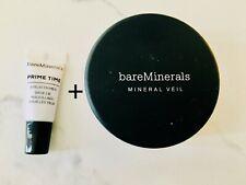 New BareMinerals Mineral Veil Face Powder + Free Eyelid Primer