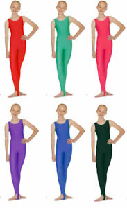 ADAGIO CATSUIT NO SLEEVE WS GATHERED FRONT SHINY LYCRA INFANT to LARGE BNWT