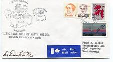1984 Devon Island Canada Polar Antarctic Cover SIGNED