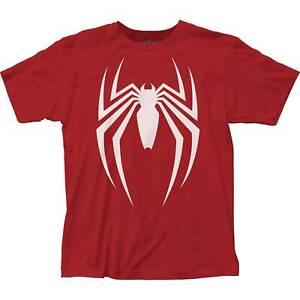 Marvel Comics Spider-Man Video Game Logo Impact Merchandising T-Shirt