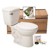 Premier 270922 Toilet-In-A Box With Round Bowl, 1.6 Gpf, White NEW
