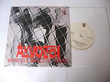 """GLI AVVOLTOI""""MORENO E'IMPAZZITO -disco 45 giri ANSALDI It 2012"""" PERFETTO"""