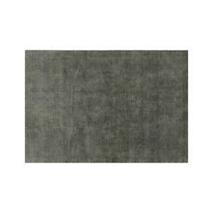 Area Rugs 5' x 8' Baxter Grey Hand Tufted Crate & Barrel Woollen Carpet
