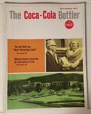 THE COCA-COLA BOTTLER - VINTAGE MAGAZINE - SEPT. 1967