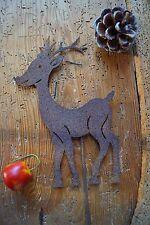 Decorazione di Natale Spina Metallo Ruggine Colori REH spina da giardino fatta a mano