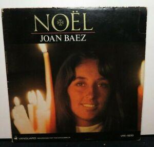 JOAN BAEZ NOEL CHRISTMAS (VG) VRS-9230 VINYL LP RECORD