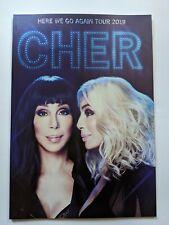 Cher Here We Go Again Tour 2019 Tour Book / Program