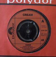 "CREAM - Badge - 7"" Single"