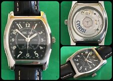 CHRIST Watch-automatic-Moonphase-Triple Date-ETA 2892 A2-Swiss Made-All S.Steel