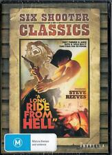 A LONG RIDE FROM HELL - STEVE REEVES - NEW REGION 4 DVD FREE LOCAL POST