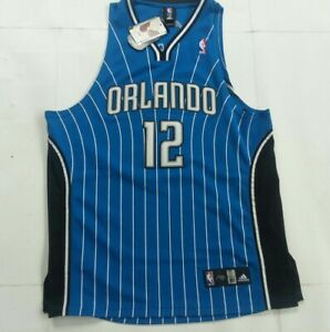 Dwight howard Authentic Adidas Orlando magic Road Blue Jersey Size 52 New