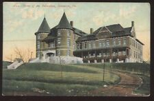 Postcard SCRANTON Pennsylvania/PA  Home for the Friendless w/Twin Spires 1907