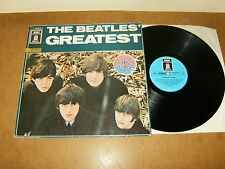 THE BEATLES GREATEST - RARE IMPORT - GERMANY LP STEREO - EMI ODEON 1C 062 04 207