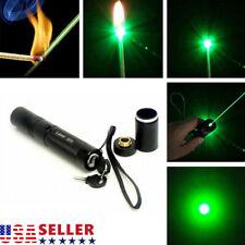 High Power Military 50M 532nm Green Laser Pointer Pen Visible Beam Light Laser