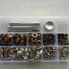 Heavy Duty Poppers Snap Fasteners Press Stud Sewing For Leather Craft Clothing