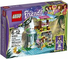 Retired LEGO Friends Set 41033 Jungle Falls Rescue New & Factory Sealed