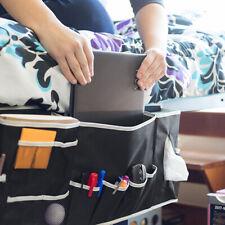 Home Bedside Pockets Storage Holder Bed Organizer Remote Couch Caddy Hanging Bag