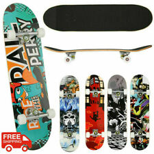 Skateboards for Beginners, Complete Skateboard 31 x 8, 7 Layer Canadian B 110