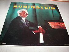 RUBINSTEIN REINER CHICAGO SYMPHONY GRIEG RACHMANINOFF LP EX RCA LM2087 1957