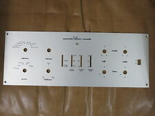Marantz 7c 7 tube preamplifier panel replica (service use)
