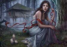 Night Unseen - 1000 piece puzzle / Gothic, Dark Fantasy