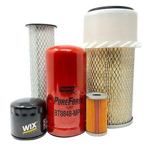 CFKIT Filter Kit for-John Deere 6675 and 7775 Skid-Steer Loaders