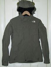 The NORTH FACE HYVENT Venture Field Jacket w/ Hood,Waterproof,Green,Women Coat S
