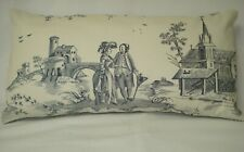 "TOILE PIERRE DEUX BALLOONS LUMBAR DECORATIVE THROW PILLOW COVER 9""x18"""