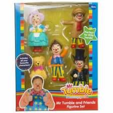 Especial-Mr Tumble and Something amigos estatuilla Set Inc tía Polly & Grandad