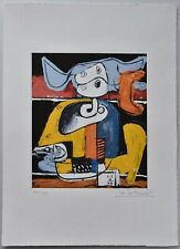 LE CORBUSIER Etching hand signed