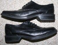 Nunn Bush Nxxt Black Leather Solid Work Dress Shoes 10 M Ten Oxford Men's Man's