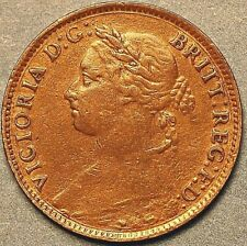 Great Britain 1881 Farthing Victoria Queen (A524)