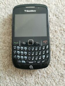 "Blackberry Curve 8520 2.4"" Black Mobile Phone not working spares or repairs"