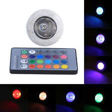 5W MR16 Dimmable RGB Color Changing Lamp Light Remote Control LED Bulb Flash HG