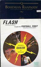 2 x Queen Sheet Music Freddie Mercury Australia Flash Football Bohemian Rhapsody