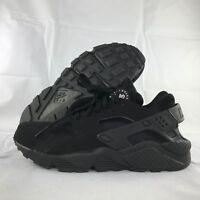 Nike Air Huarache Triple Black White 318429-003 Men's 7.5-12.5 NEW Shoes