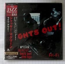 Jackie McLean Quintet - Lights Out JAPAN MINI LP CD NEU! UCCO-9292