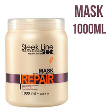 STAPIZ Professional Sleek Line Repair Hair Mask With Silk Protein 1000ml Gift