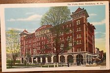 DL560 The Waldo Hotel Clarksburg West Virginia WV Vintage PC