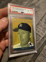 Mickey Mantle PSA 8 Topps Finest #8 Collector Card Man Cave Investment GIFT 1996