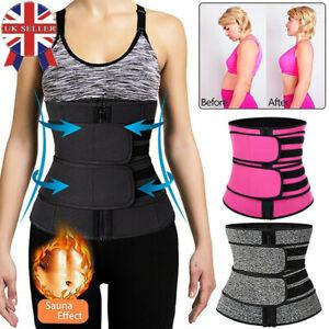 Women Men Waist Cinchers Trainer Sweat Sauna Belt Body Shaper Slim Waist Belt