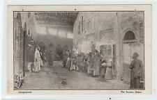 THE BAZAAR, BASRA: Mespotamia postcard (C30661)