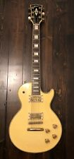 1984 Greco Custom Les Paul Electric Guitar Aged White Bare Knuckle Pickups